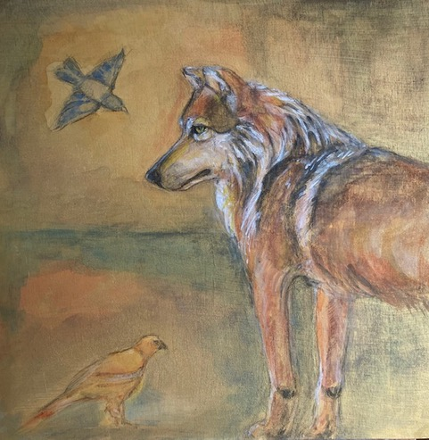 Miatuk and Friends Painting